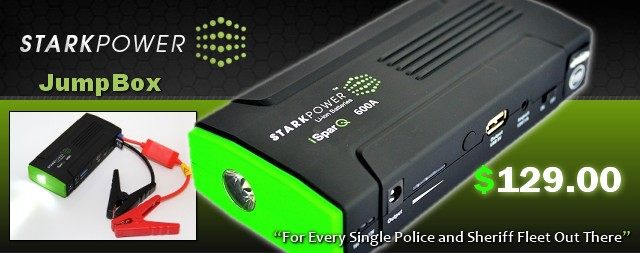 "12V StarkPower ""iSparQ"" 600A Lithium Ion Emergency Battery and Jump Starter"